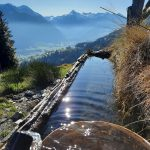 kleiner Brunnen neben dem Wanderweg, Foto: Sabine Hechenberger