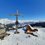 Gipfelkreuz Geierkogel, Foto: Sabine Hechenberger