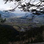 Panoramahafte Aussicht über Saalfelden