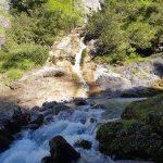 Schluchten und Wasserfälle im Stoissengraben, Foto: Sabine Hechenberger