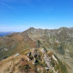 Gratwanderung zum Sonnspitz Gipfel, Foto: Sabine Hechenberger