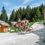 Von der Lodge die Biketour starten