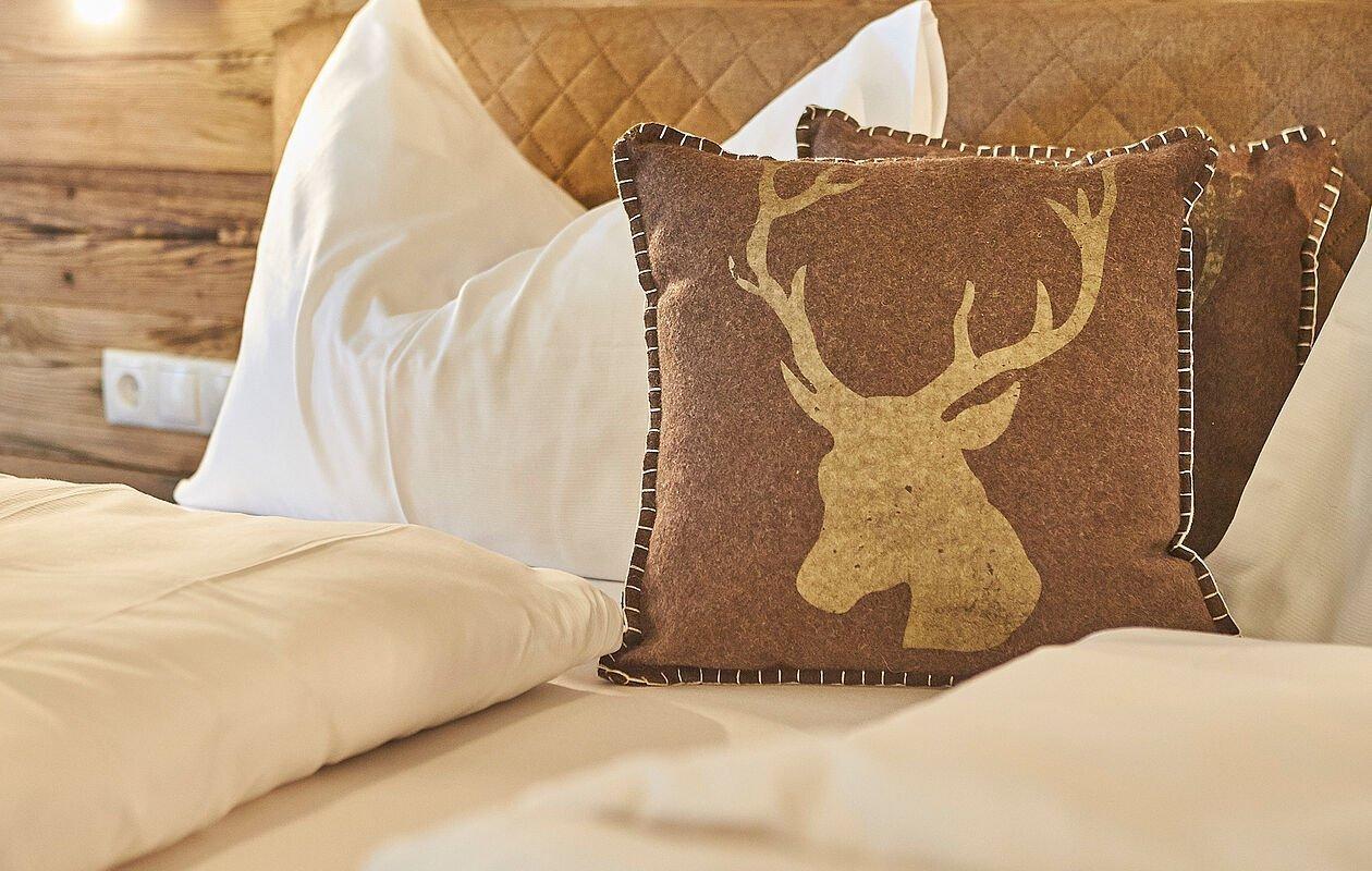 Kuschelige Betten erwarten Sie im Hotel Sonnleiten Saalbach