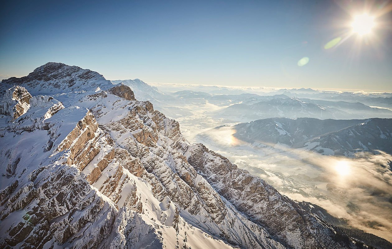 Berglandschaft von Saalbach
