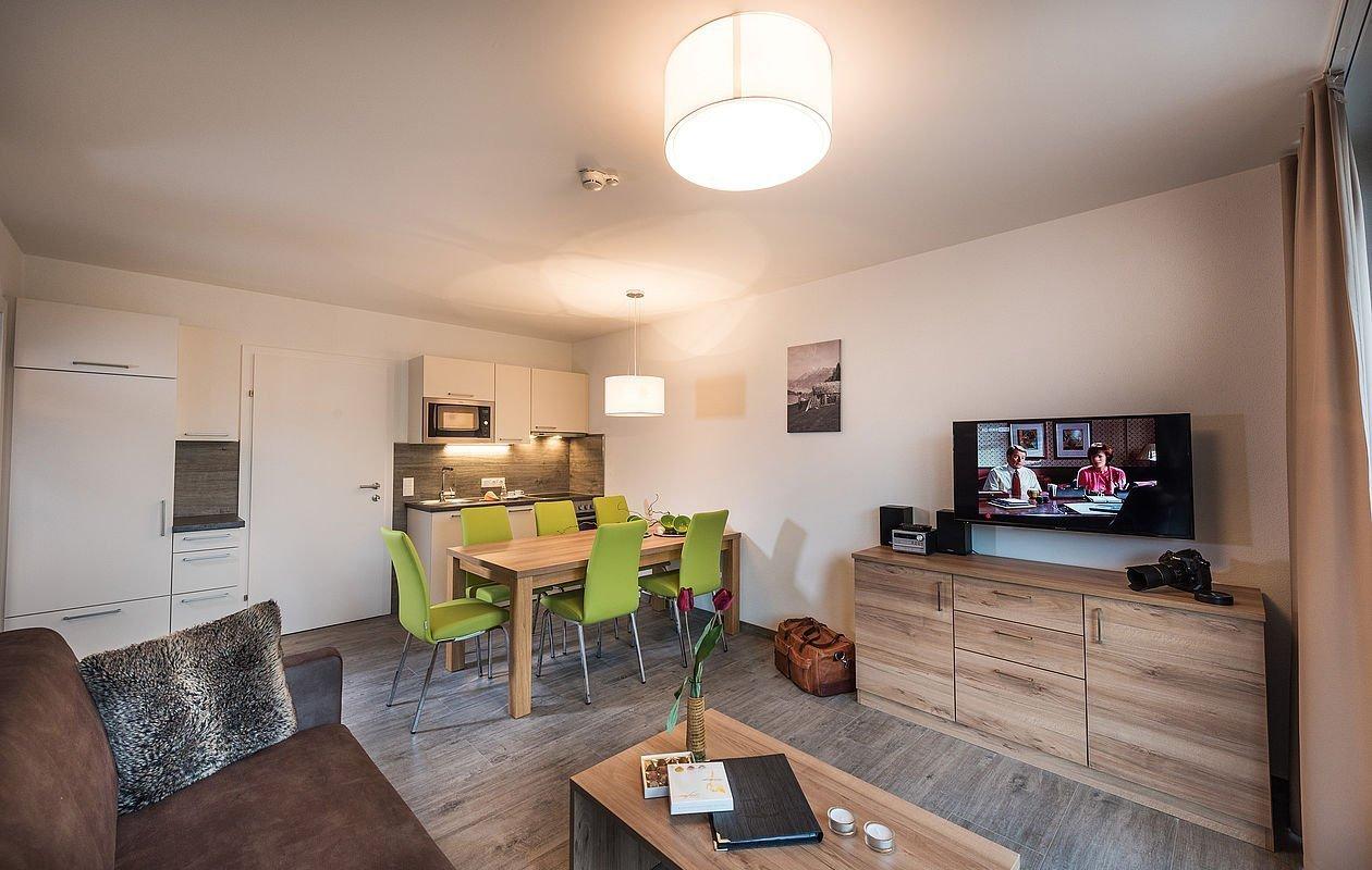 Apartment Beispiel im AlpenParks Hotel & Apartment Central