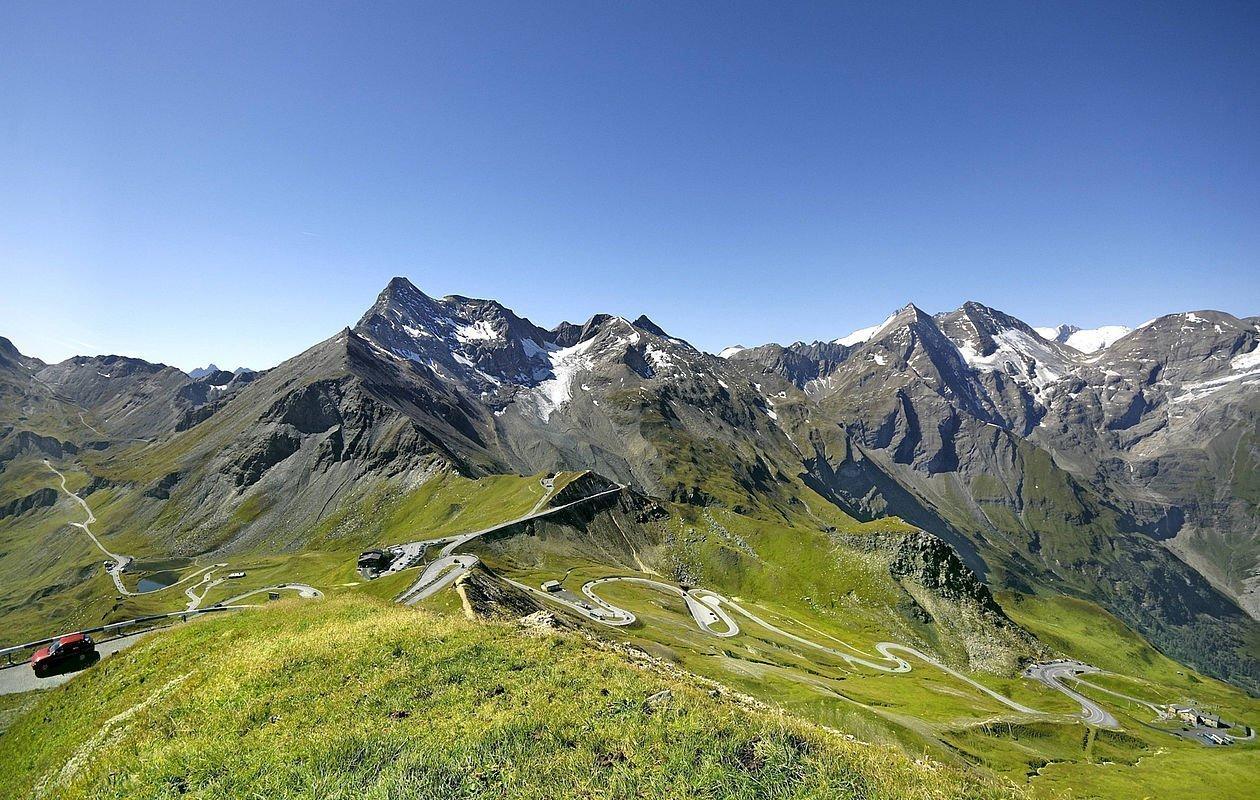 Gewaltiges Bergpanorama an der Großglockner Hochalpenstraße