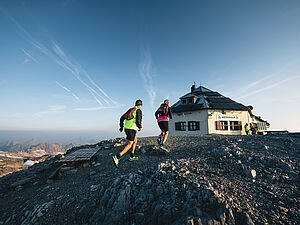[Translate to English:] Trailrunning am Hochkönig - AlpenParks Mühlbach