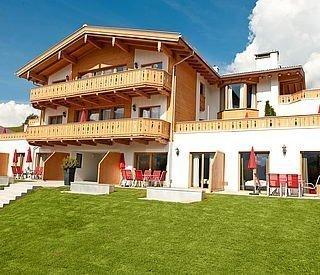 Apartmentanlage in maria Alm mit großen Terrassen