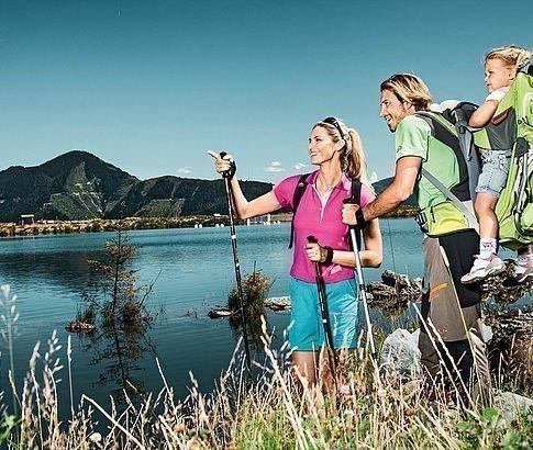 Wandern am Plettsauteich auf der Schmittenhöhe