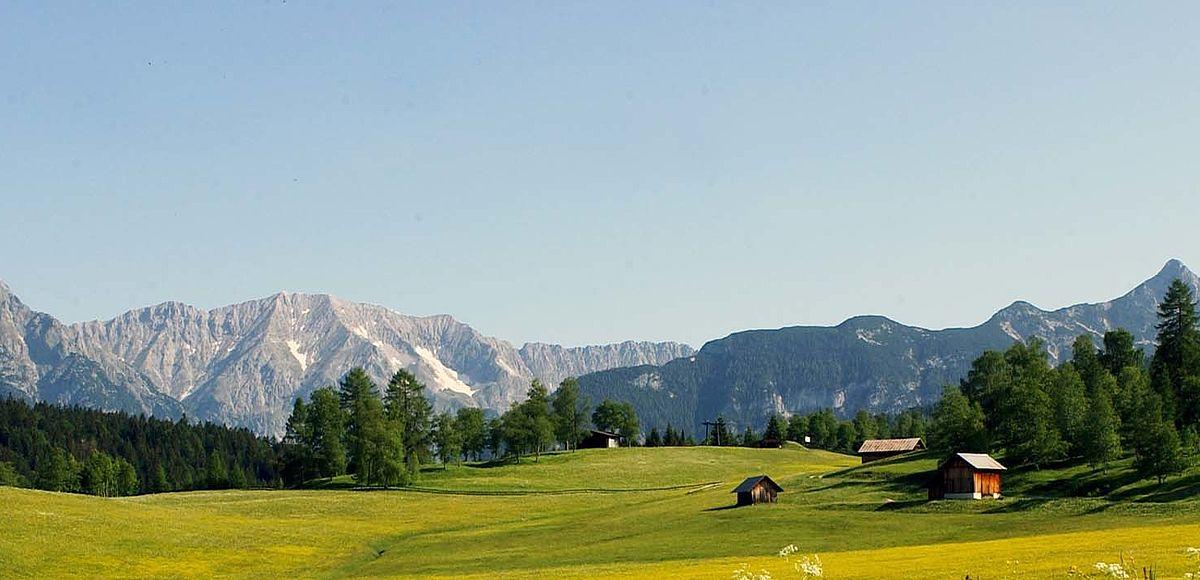 Einzigartige Natur in der Olympiaregion Seefeld - AlpenParks Alpina Seefeld