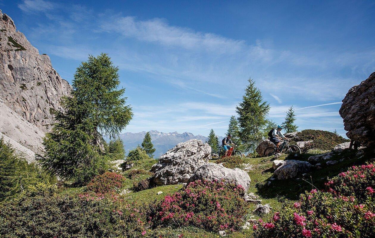 Atemberaubende Trails in den Bergen Osttirols