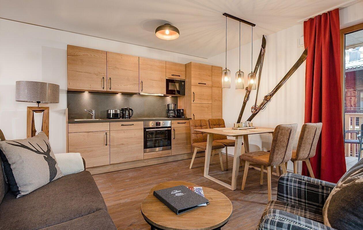 Top ausgestattete Küche mit Essbereich in Mühlbach