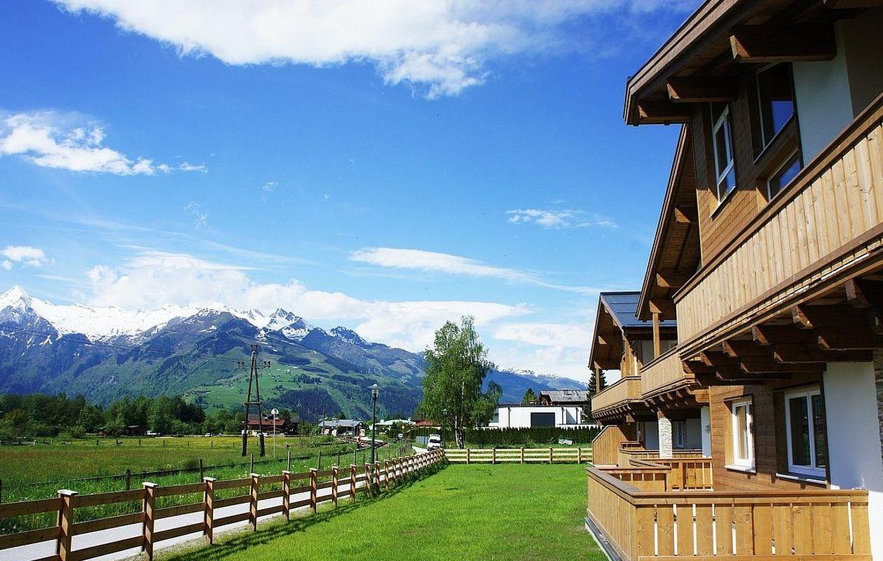Ferienappartements mit Garten und Blick aufs Kitzsteinhorn