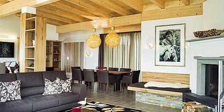 [Translate to English:] Penthouse Zell am See Innenansicht