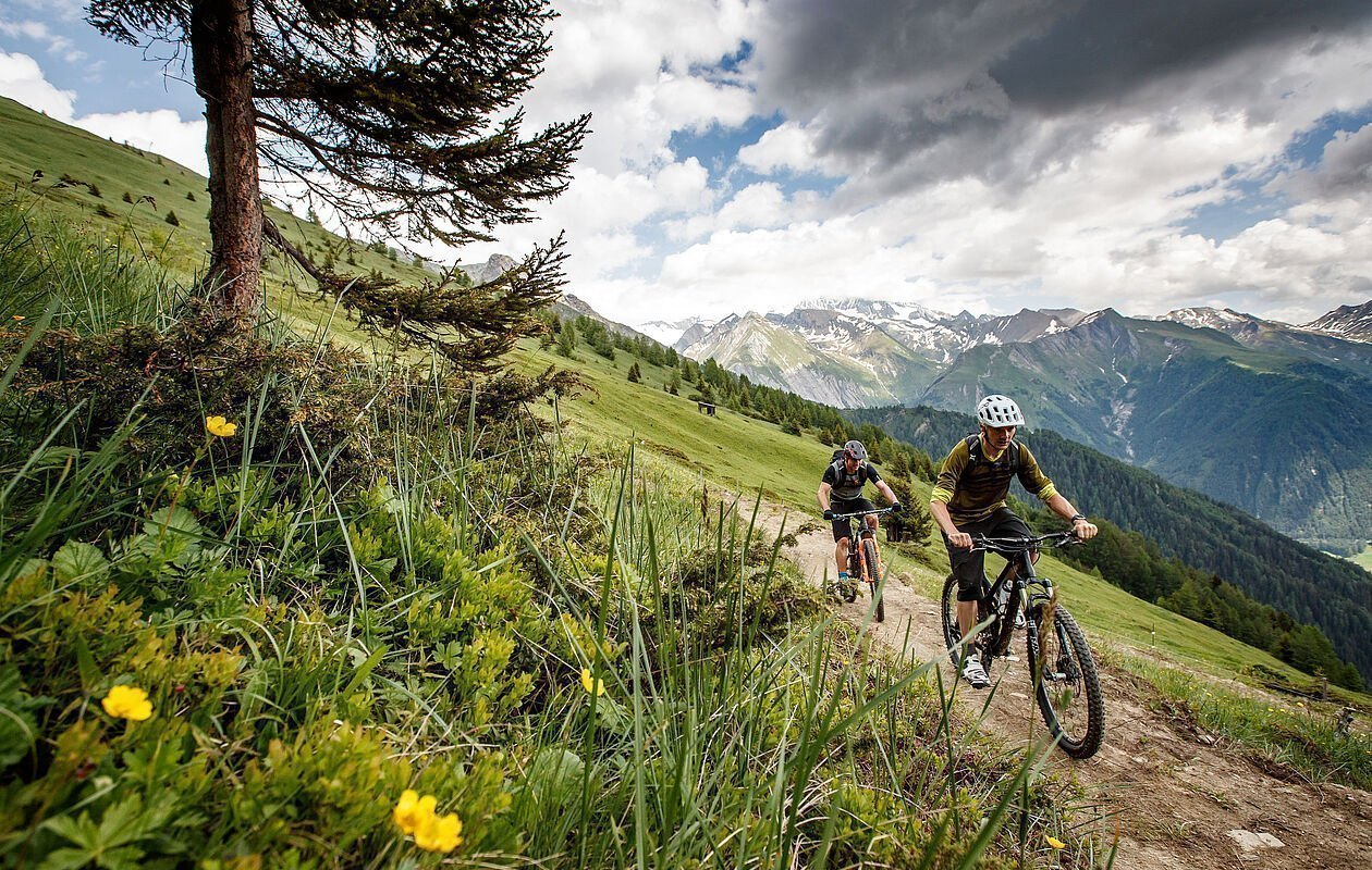 Mountainbiken auf perfekten Trails in Osttirol