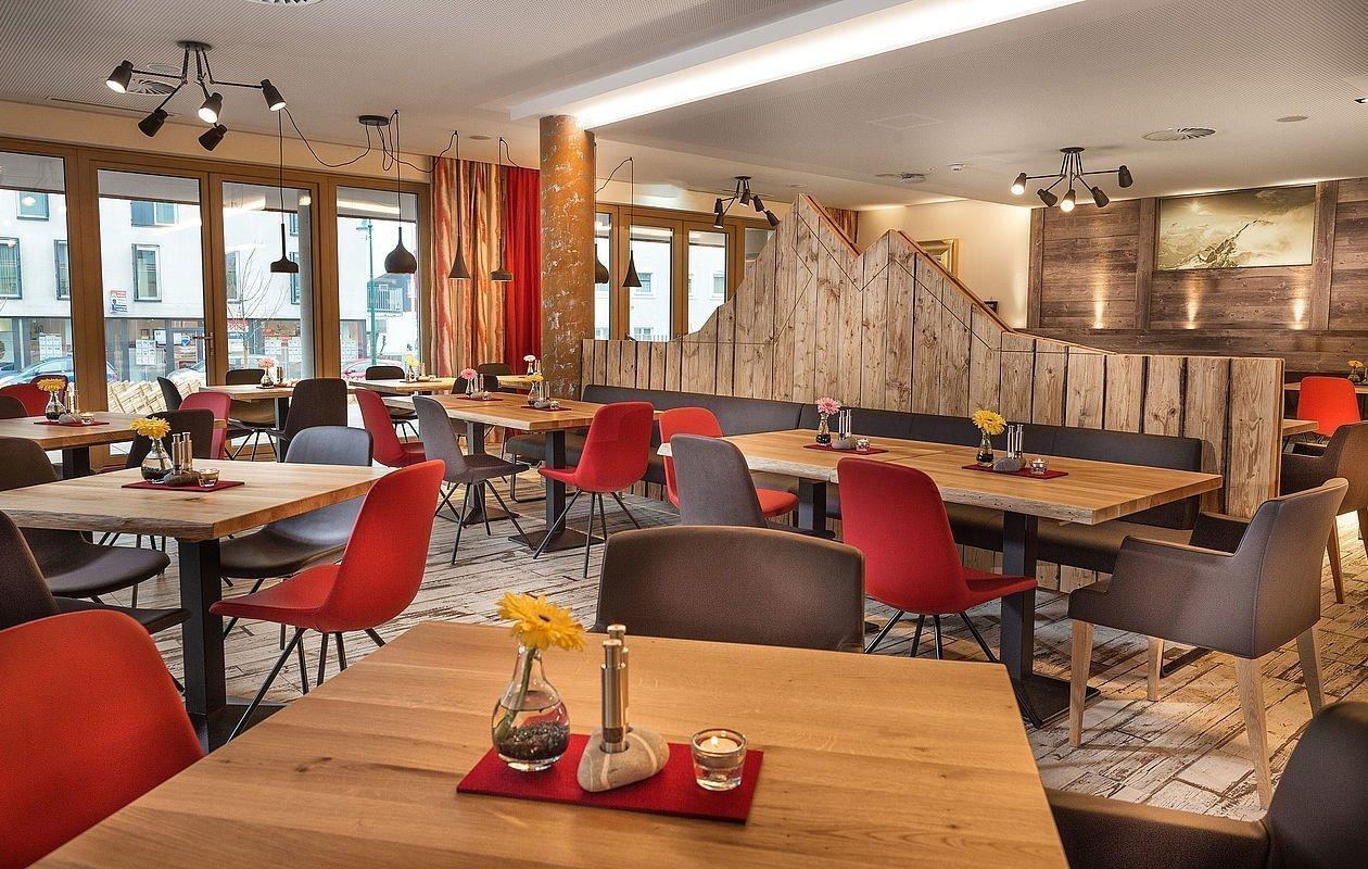 Urbanes Restaurant in Zell am See perfekt für Veranstaltungen jeglicher Art