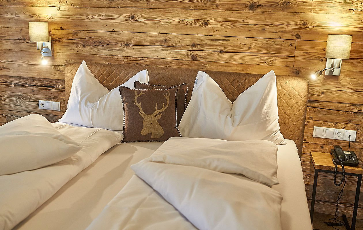 Kuschelige Betten im Hotel Sonnleiten in Saalbach