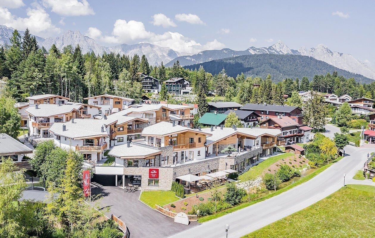 Wunderschöne Hotelanlage im Chalet-Stil in Seefeld