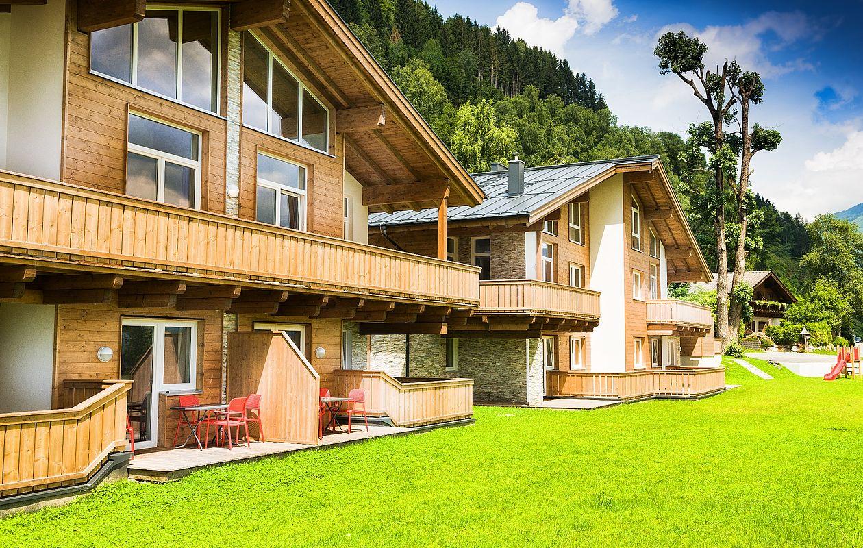 Apartmenthäuser mit Bergblick in Zell am See