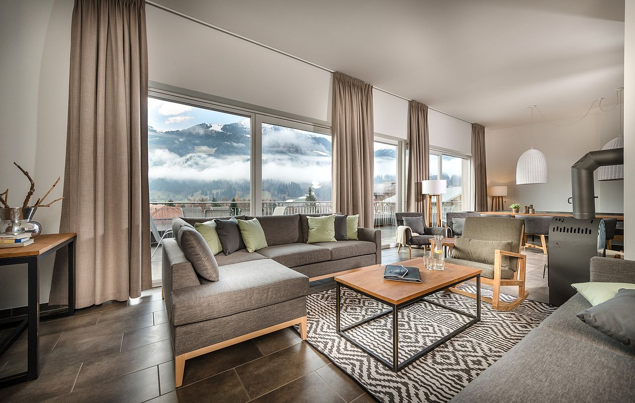 Luxuriöses Penthouse mit Bergblick in Bad Hofgastein