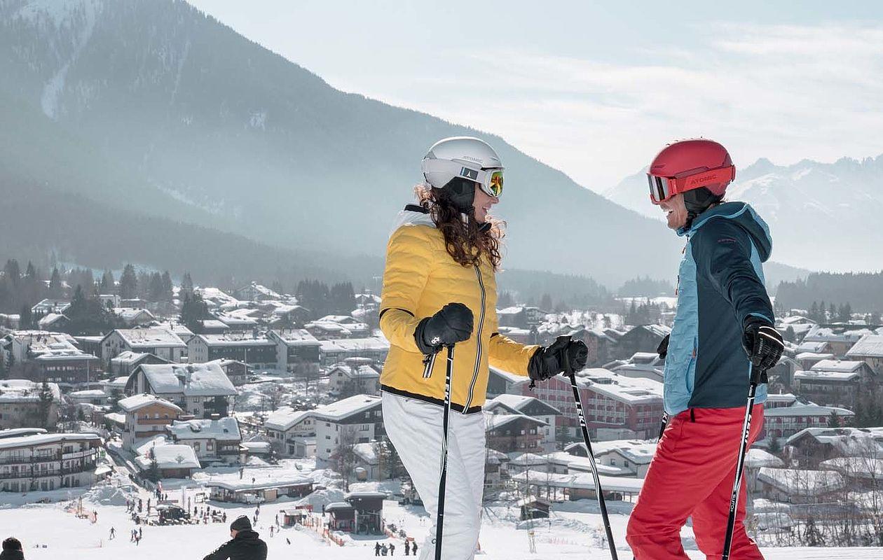 Skifahren & Snowboarding in Seefeld - AlpenParks Alpina Seefeld